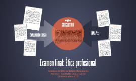 Examen final- Ética profesional