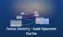 Forensic Chemistry - Double Replacement Reaction