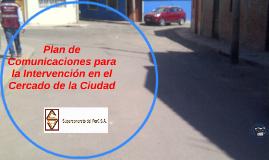 """PROYECTO """"INSTALACION Y MEJORAMIENTO DE LOS SISTEMAS DE AGUA"""