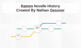 History of The Ramen Noddle