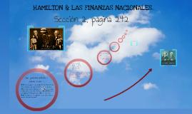 SECCION 2, HAMILTON & LAS FINANZAS NACIONALES.