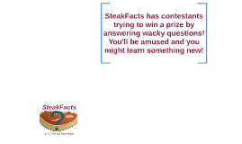 SteakFacts