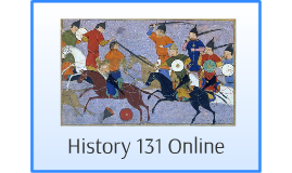 History 131 Online