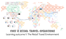 retail travel operations Travel agency managers work in retail travel outlets, which promote and sell holidays and travel-related products travel agencies range from small independent businesses to large chains some specialise in business travel while others have detailed knowledge of specific locations or travel products.