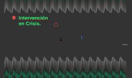 Intervención en Crisis.