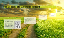 Copy of TEORÍA DE LOS DOS FACTORES DE HERZBERG