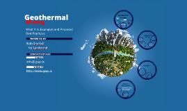 Geothermal Mining
