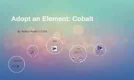 Adopt an Element: Cobalt