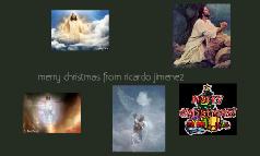 merry christmas from ricardo jimenez