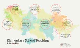Elementary School Teaching