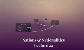 Nations & Nationalities Lecture 24