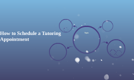 How to Schedule a Tutoring Appointment