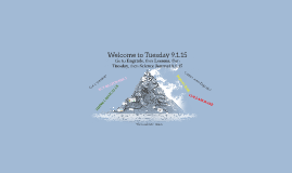 Welcome to Tuesday 9.1.15
