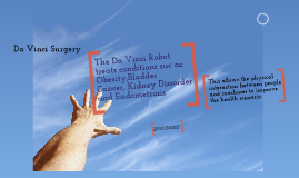 ITGS Da Vinci Robot