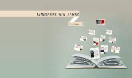 Copy of LIBRO DEL MAL AMOR