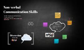 non-verbal communication skills