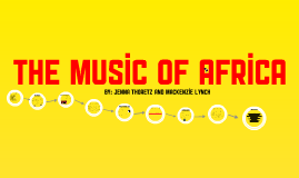 African Music! :)