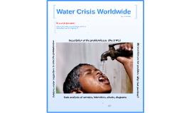 Water Crisis Worldwide
