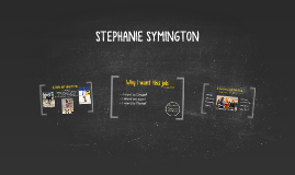 STEPHANIE SYMINGTON