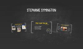 STEPHANIE SYMINGTON