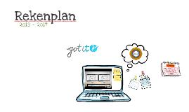 Copy of Rekenplan