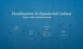 Desalination in Equatorial Guinea