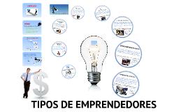Copy of Emprendedor y tipos de emprendedores