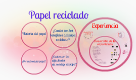 Copy of Papel reciclado