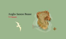 Anglo-Saxon Boast