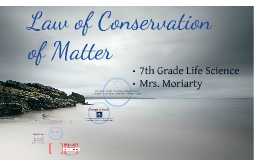 Copy of The Law of Conservation of  Matter: A Rule We Cannot Break