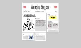 Amazing Singers