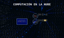 Copy of COMPUTACION EN LA NUBE