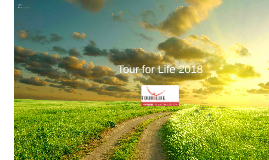 Presentatie Yneke Kootstra Tour for Life 2018