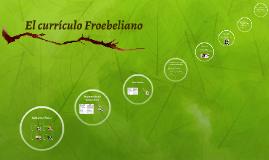 Curriculo de Froebel
