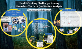 Health Seeking Challenges Among Homeless Youth: A Qualitative Analysis