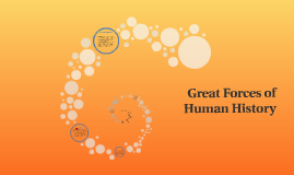 Great Forces of Human History