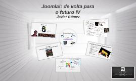 Joomla! de volta para o futuro IV