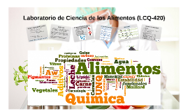 Laboratorio de Ciencia de los Alimentos (LCQ-420)