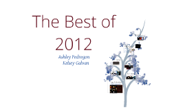 The Best of 2012 :)
