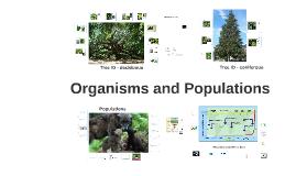 Envi Sci - Organisms & Populations