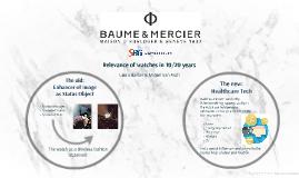 Baume et Mercier SBG