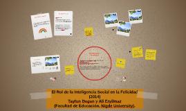 El Rol de la Inteligencia Social en la Felicidad (2014)