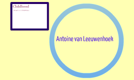 Antoine van Leeuwenhoek and Robert Hooke
