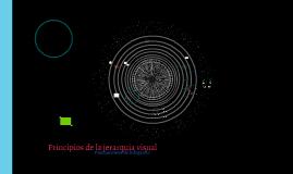 Principios de la infografía