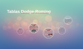 Copy of Tablas Dodge-Roming