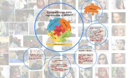 Competências para representar o MPDFT