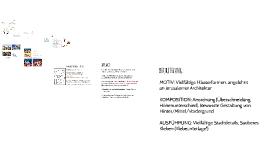 Farbenlehre + Materialkunde - 1.Klasse