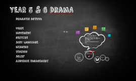 YEAR 5 & 6 Drama