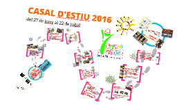 Copy of CASAL d'ESTIU 2016