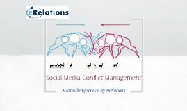 Social Media Conflict Management